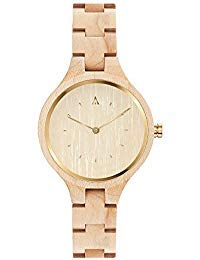 MAM Originals · Geese Maple | Women's Watch | Minimalist Design | Watch Made from sustainably Sourced Wood | Superior Quality at an Affordable Price