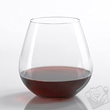 Riedel O Pinot Noir / Burgundy Stemless Wine Glasses (Set of 6)
