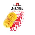 Frontier Natural Products 228298 Jade & Pearl Sea Sponge – Reusable, Large-2 Pieces