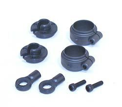- Losi Shock Spring Clamps & Cups, LOSA5023