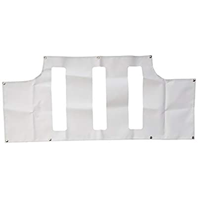 Belmor WF-1886-1 White Winterfront Truck Grille Cover for 1982-2000 International 3000, 4600, 4900: Automotive