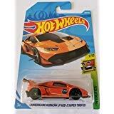 lamborghini huracan hot wheels - Hot Wheels 2018 Hw Exotics 1/10 - Lamborghini Huracan LP 620-2 Super Trofeo (Orange)