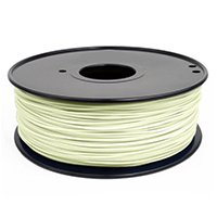 UPC 618996990535, Inland 1.75mm Glow in the Dark ABS 3D Printer Filament - 1kg Spool (2.2 lbs)