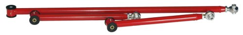Founders Performance 23963R-PHR Single Adjustable Lower Control Arms & Panhard Rod Kit Red - Car Set