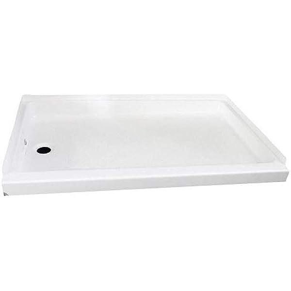 Amazon.com: Shower PAN 24 X 36 White   Left Hand Drain: Automotive