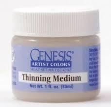 Genesis Heat Set Oils GAC THINNING