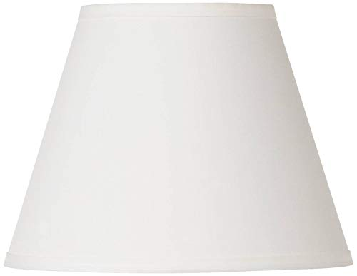 Off White Lamp Shade 6x11x8.5 (Spider) - Brentwood