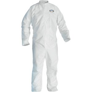 A20 Coveralls w/ Elastic Back/Wrists/Ankles, L, 24/Case