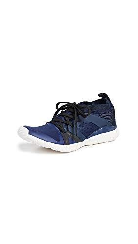 adidas by Stella McCartney Women's Crazytrain Pro Sneakers, Night Indigo/Core Black/White, 7.5 Medium US