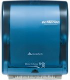 Georgia Pacific Enmotion 59488 Impulse 10 Automated Touchless Paper Towel Dispenser, Translucent Smoke Blue