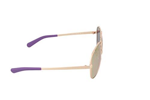 Michael Kors MK5004 Chelsea Sunglasses, Gold/Purple Photo #2