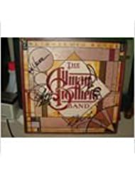 "THE ALLMAN BROTHERS signed ""Enlightened Rogue"" album cover by 4 incl.Gregg Allman (D), Butch Trucks (D)/ UACC RD # 212"