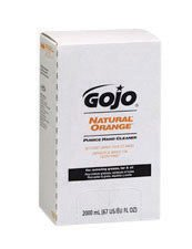 GOJO® 2000 ml Refill Gray PRO Natural* Orange Citrus Scented Pumice Hand Cleaner With Pumice Scrubbing (Pumice Clothing)