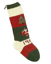 Christmas Stockings Knitting Kits; Santa and Tree
