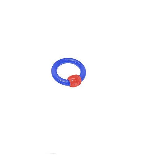 BodyJewelryOnline UV Acrylic Captive Bead Ring 6 ()