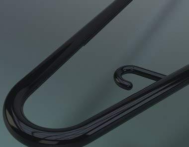 Rapid Plastics Tubular Hanger Black-AMA
