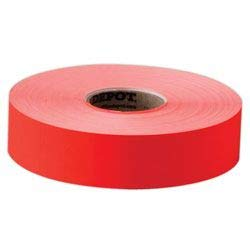(Office Depot General Purpose Adhesive Pricemarking Labels, Flourescent Red, 2500 Labels/Roll, Pack of 1, 925PB0007)