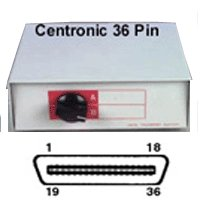 Centronics Switch Box (Beige Centronics-36 Switch Box Cross-Type)