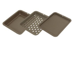 Range Kleen BW5 Non-Stick Petite 3-Piece Bakeware Set (Small Oven Cookware compare prices)