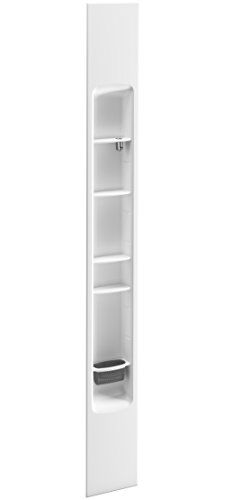 KOHLER K-97630-0 Choreograph 9'' Shower Locker Storage, White by Kohler