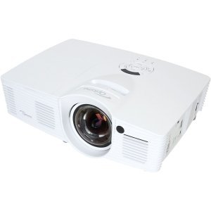 Optoma EH200ST 3D Ready DLP Projector - 1080p - HDTV - 16:9 - 2.8 - 190 W - NTSC, PAL, SECAM - 5000 Hour - 6000 Hour - 1920 x 1080 - WUXGA - 20,000:1 - 3000 lm - HDMI - USB - 262 W - 1 Year Warranty - EH200ST - Ntsc Projection Tv