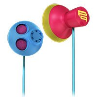 Sony MDR-PQ5/Z PIIQ Bass Earbuds, Multicolor