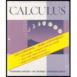 Calculus Late Transcendentals Combined 9E Binder Ready Version, Anton, 0470400994
