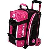 Ebonite Eclipse Double Roller Bowling Bag, Pink