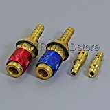 Water Cooled & Gas Adapter Quick Connector Fitting For TIG Welding Torch 2pk RIVERWELDstore