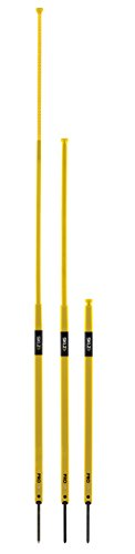 SKLZ Pro Training Agility Poles. Telescoping Agility Trainer for Soccer (Set of 8). ()
