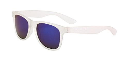 RubySports Men's Wayfarer UV400 Sunglasses Outdoors Eyeglasses White - Uk Wayfarer Sunglasses
