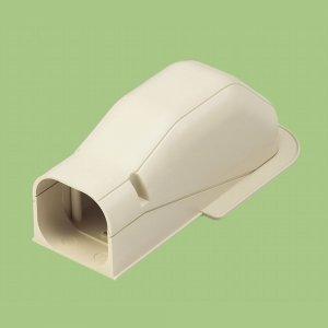 10個セット 配管化粧カバー 出口化粧カバー(先付用) 66タイプ ホワイト KD-65S-W_set