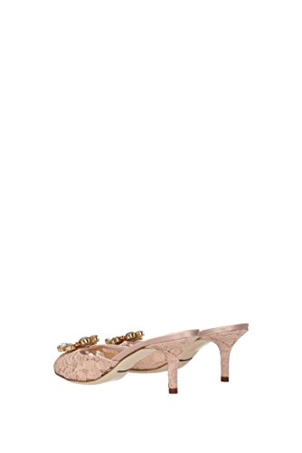 Sandalen Dolce & Gabbana Damen - Stoff (cr0392al198) Eu Roze