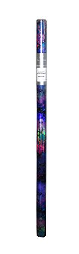 The Gift Wrap Company Premium All Occasion Gift Wrap Roll, 60 X 30 inches (Holographic Star Splatter)