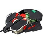 (JS-L10 3200DPI USB Wired Mechanical Alloy Gaming Mouse Mice with Colorful Light)