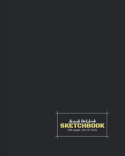 Amiesk Notebook | Sketch Book | 600 pages (8 x 10 inch) | por Amiesk Book Publications,Amrita Gupta