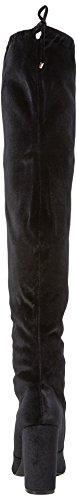 Tie para Black Selfridge Mujer Miss Botas Negro Black Mosqueteras TpnRxqOv