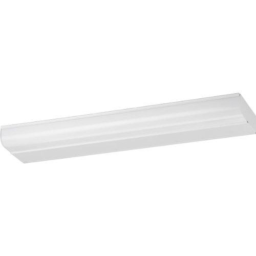 Progress Lighting P7201-30WB White Acrylic Diffuser with White Metal Housing, White ()