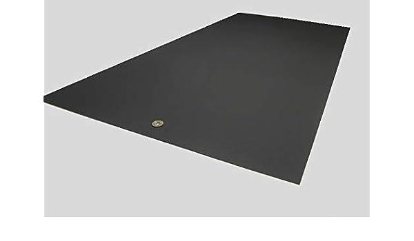 """BLACK KYDEX V PLASTIC SHEET 0.093/"""" X 12/"""" X 12/"""" VACUUM FORMING"""