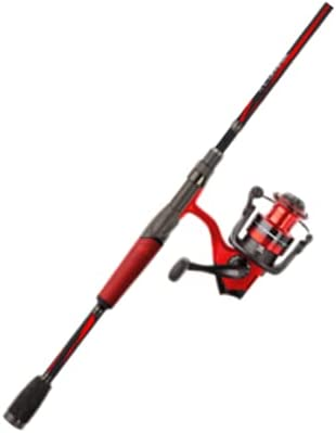 Abu Garcia Red Max Spinning Reel and Fishing Rod Combo