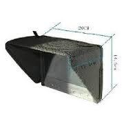 LILLIPUT 8 Inch Sunhood/sunshade for Coollcd 8 Inch LCD Monitor/819ah and LILLIPUT 8