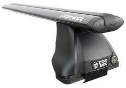 System Multi Fit (Rhino-Rack USA JA2530 2500 Multi Fit Vortex Aero Roof Rack System Incl. Mount Kit 2 Black Vortex Aero Bars 4 Legs Length 1375mm 2500 Multi Fit Vortex Aero Roof Rack System)