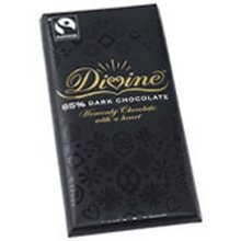 (Divine Chocolate Bar, Exquisitely Rich 85% Dark, 3.5 Ounce (Pack of)