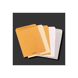 Quality Park 38563 Clasp Envelope, 6 1/2 x 9 1/2, 28lb, Executive Gray, 100/Box