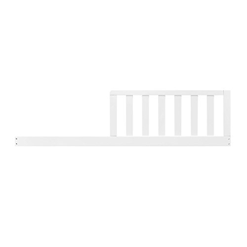 Baby Relax Toddler Guard Rail, Pure - Wood Rail Side