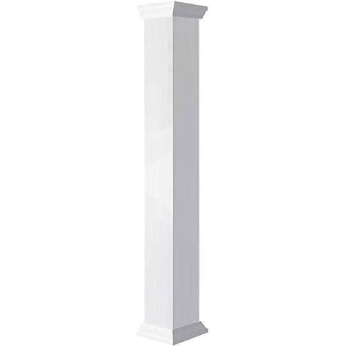 Panel Raised Column (Endura-Craft Columns CC0808ENPCRCR Column, White)