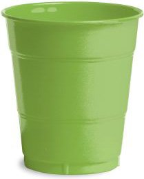 Neon Green Plastic Party Cups (Neon Solo Cups)