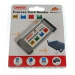 Express Card Memory Card Reader for Laptops (MS/MS -