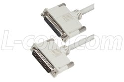 Cable, DB25 Male / Female, 2.5 ft (D-sub Db25 Server)