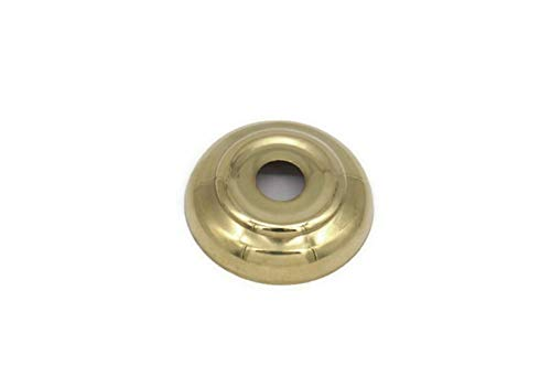 (RX-789 Brass Bed Finial Ball Washer Mount Spacer 1 3/4